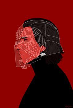 Karina Gelencser - Star Wars The Force Awakens Portraits Kylo Ren