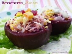 Betteraves Mimosa