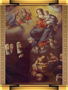 Saint of the Day - February 2 - St. Joan de Lestonnac O.D.N. - Widow & Foundress -1556-1640 Patron of abuse victims, people rejected by religious orders, widows #pinterest St. Joan de Lestonnac was born in Bordeaux, France, in 1556. She married at the age of seventeen. The happy marriage produced four children, but her husband died suddenly in 1597. After her children ...........| Awestruck Catholic Social Network