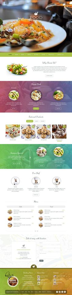 Best Restaurant & Cafe WordPress Themes