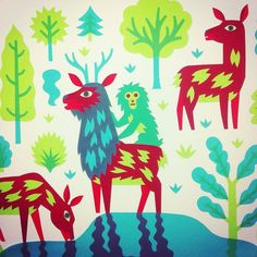 Monkey on a deer (Detail of a papercut) #papercut  #monkeyondeer  #yakushima  #tillhafenbrak  #illustration by hafenbrak