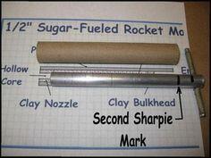 sugar rocket tooling with alignment mark on rammer Survival Project, Survival Prepping, Survival Skills, Build A Rocket, Diy Rocket, Science Facts, Science Lessons, Stem Projects, Science Projects