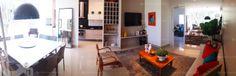 Apartamento 3 Quartos Decorado Terra Mundi Parque Cascavel - Living 180º