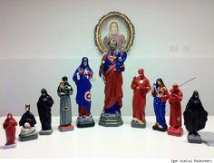 Italian Artist Igor Scalisi Palminteri Imagines Saints As Superheroes [Art]