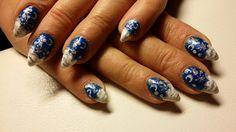 Talvi Sapphire, Nails, Rings, Beauty, Jewelry, Finger Nails, Jewlery, Ongles, Jewerly