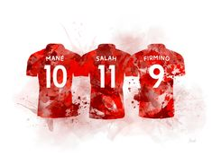 Frontline Attack by My Inspiration Arsenal Liverpool, Salah Liverpool, Liverpool Soccer, Liverpool Players, Liverpool Cake, Liverpool Fc Wallpaper, Liverpool Wallpapers, Mo Salah, Inspirational Artwork