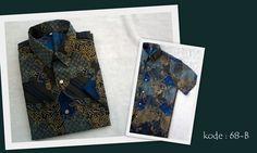 Kemeja Batik 68B | IDR 75.000 | Bahan : Sandwash | Size M, L, XL | Order : 081333303545