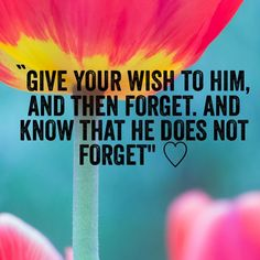 Allah never forgets...