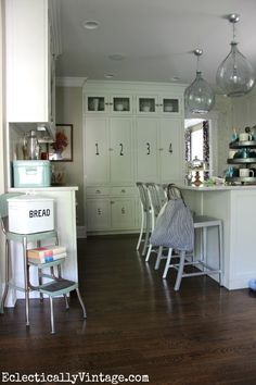 Like idea of pantry wall for lakehouse eclecticallyvintage.com