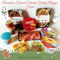 December Hormel Product Highlights #hormelfamily @horm