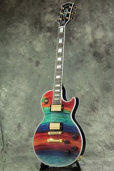 Gibson Custom Shop /Les Paul Custom 2016 Figured Aurora Borealis