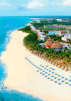 Valentin Imperial in the Riviera Maya....oh, how I'd love to go back.  RIGHT NOW.