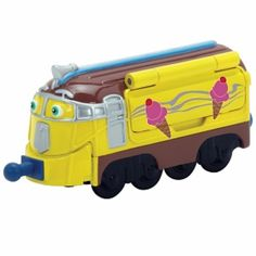 I'm learning all about Chuggington Die Cast Frostini at @Influenster!