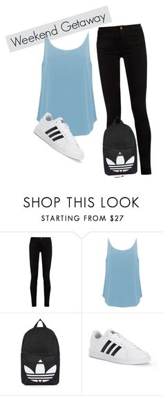 """weekend getaway"" by fashonista-646 on Polyvore featuring Gucci, BA&SH, Topshop and adidas"