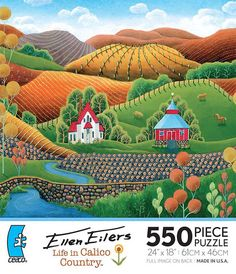 Ellen Eilers - Life in Calico Country, Bill's Summer House | PuzzleWarehouse.com