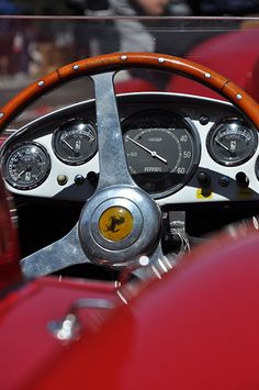 Inside a racing classic