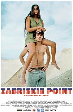 Michaelangelo Antonioni's Zabriskie Point (1970)