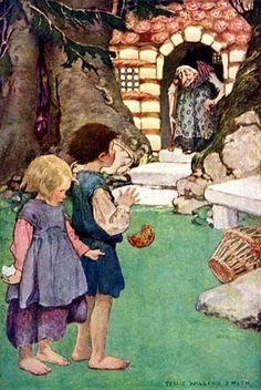 Hansel and Gretel by Jessie Willcox Smith