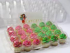 Katgely Mini Cupcake Boxes, Mini Cupcake Containers, 24 Mini Cupcakes, Set of 10 Katgely Inc http://www.amazon.com/dp/B00M8DL5Q0/ref=cm_sw_r_pi_dp_dhaXvb0J5KRTY