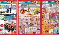 A-101 04 Şubat Perşembe Hafta Kampanyalı Ürünler.