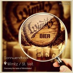wimitzbräu sonnwendbock 2015... Alcoholic Drinks, Beer, Glass, Food, Root Beer, Ale, Drinkware, Corning Glass, Essen