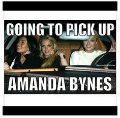 Picking up Amanda Bynes  ... Sad Amanda Bynes went crazy :(