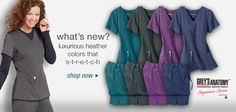 The latest brand name medical scrubs and nursing uniforms for women