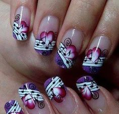 Rock and Roll Nails