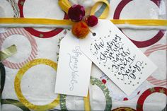 Free Printable Calligraphy GiftTags! - LindseyBee Blog - LindseyBee. the original blog for downloading those lovely tags