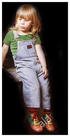 David Bowies 2-year-old son Zowie in February 1974.