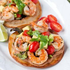 Margarita Shrimp Tostadas Recipe - RecipeChart.com