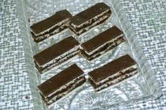 Zebra rezy - recept Sweet Desserts, Dessert Recipes, Candy, Chocolate, Foods, Sweet, Food Food, Toffee, Candy Notes