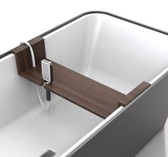 """Reece Bathroom Innovation Award Professional Winner 2011 - Bathe by Justin Wagemaker """"Bathe allows the ritual of cleansing to be revitalised in the modern day. This design allows for the user to accessorise Bathe to suit their needs and to develop their own unique cleansing ritual. Each family member is able to organise their preferred combination."""" #reecebia"""
