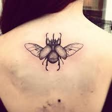 What does beetle tattoo mean? We have beetle tattoo ideas, designs, symbolism and we explain the meaning behind the tattoo. Hair Tattoos, Time Tattoos, Body Art Tattoos, New Tattoos, Tattoos For Guys, Tatoos, Beetle Tattoo, Tattoo Sketches, Tattoos With Meaning