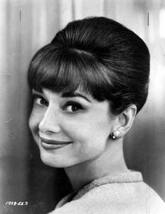 Audrey Hepburn, simply gorgeous.