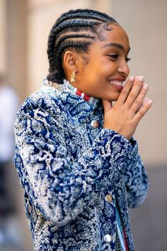 Looking for a new protective hairstyle to try? Go for any of these gorgeous goddess braid hairstyles. We rounded up the coolest looks for 2020. Box Braids Hairstyles, Natural Braided Hairstyles, Protective Hairstyles For Natural Hair, Natural Hair Braids, Hair Updo, Hairstyle Short, School Hairstyles, Cornrows Short Hair, Hairstyle Ideas