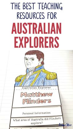 This outstanding range of Australian Explorers Teaching Resources are aligned with the Australian Curriculum and have been designed for your Year 5 HASS Australian History lessons. The activities in these resources are fun, hands-on and interactive and co Primary Teaching, Primary Classroom, Teaching Science, Social Science, Primary School, History Activities, Teaching History, Teaching Resources, Federation Of Australia
