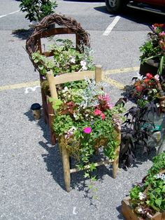 garden junk projects - Bing Images