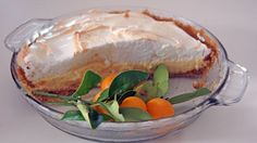 Florida's citrus is ripening in the groves and it's time to make this Best Ever Sour Orange Pie, one of my family's all-time favorites that is especially popular during the holidays