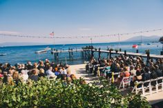 Lake Tahoe Wedding. Private Estate  Photo Credit: Annie X Photographie