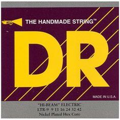 DR Strings Electric Guitar Strings, Hi-Beam, Hex Core 9-42 by DR Strings. Save 49 Off!. $5.87. DR HandMade Hi-Beam? electric guitar strings are very much like the standard DR Tite-Fit? electrics in feel and flexibility, but are much brighter and have an edge to their tone. These strings are for the rockers and head-bangers looking for the brightness and edge missing in the warmth and fatness of the standard Tite-Fit?.   Gauges: .009; .011; .016; .024; .032; .042