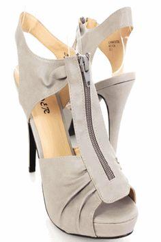 $28.99 #grey #shoes #heels
