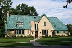 A favorite Cotswold house in Grosse Pointe Park, Michigan. Beautiful Homes, Beautiful Places, Amazing Places, Cotswold House, Unusual Buildings, English Countryside, Historic Homes, My Dream Home, My House