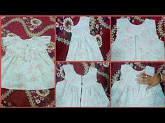 Baby Dress cutting Step By Step - Cutting Tutorial - YouTube