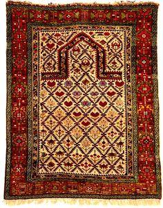 Shirvan Rugs: The Woodmen Shirvan Prayer Rug