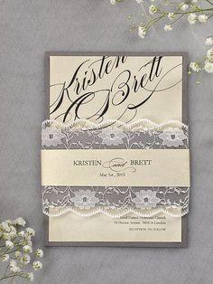 Custom listing 100 Grey and Ivory Wedding by forlovepolkadots