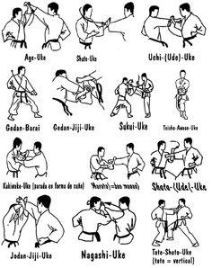 Karate blocks