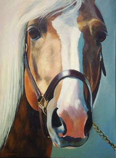 'Palomino' - painting by Alecia Underhill