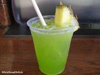 Caribbean Limeade - pool bar menu