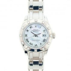 This is the ultimate in luxury watches for women! Rolex Pearlmaster 29mm Model 80319